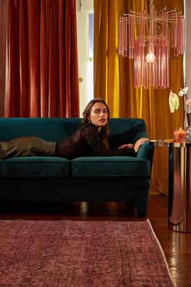 Urban Outfitters Marisol Velvet Sofa