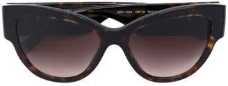 Versace Eyewear oversized Medusa sunglasses