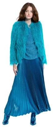 Alice + Olivia Verity Faux Fur Coat