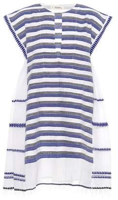 Lemlem Lulu mixed stripe gauze dress