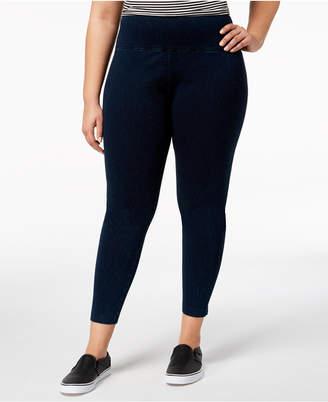 Lysse Women's Plus Size Tight Ankle Denim Leggings