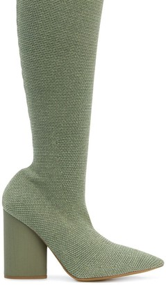 Yeezy stretch boots