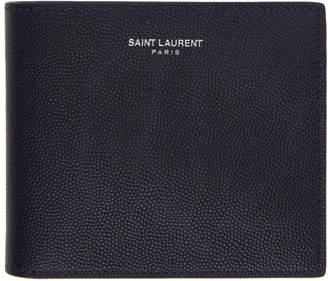 Saint Laurent Navy Removable Panel Wallet
