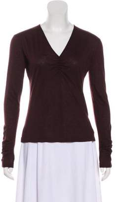 Akris Long Sleeve Cashmere Top Long Sleeve Cashmere Top