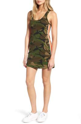 Pam & Gela Camo Print Tank Dress