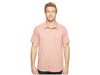 Toad&Co Panorama Chambray Short Sleeve Shirt Men's T Shirt