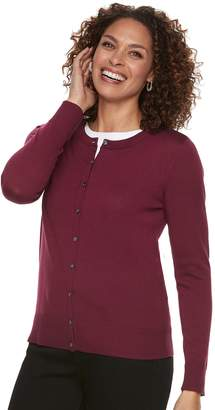 Croft & Barrow Women's Classic Cardigan Sweater