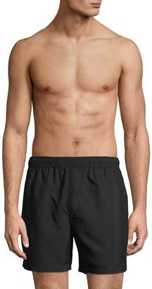 French Connection Solid Swim Shorts