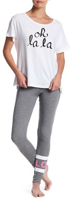 Sundry Love Stripe Yoga Pant $106 thestylecure.com
