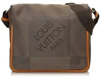Louis Vuitton Vintage Terre Damier Geant Canvas Messenger Bag