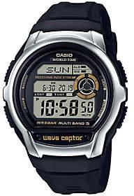 Casio Men's Wave Ceptor Black Atomic World Time