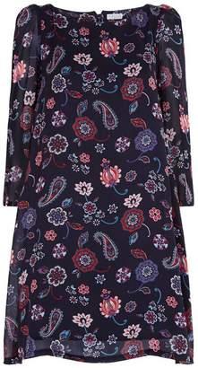 Claudie Pierlot Floral Paisley Shift Dress
