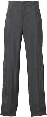 Emporio Armani loose fit trousers