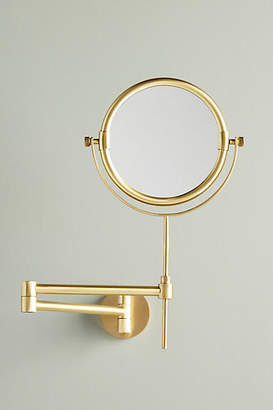 Anthropologie Wall-Mounted Makeup Mirror