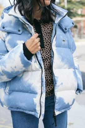 Lacoste Cloud Hooded Puffer Jacket