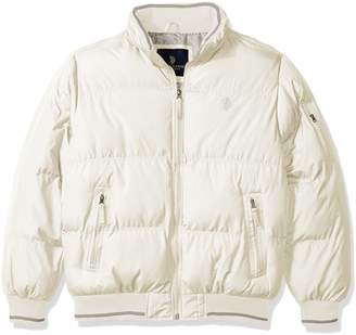U.S. Polo Assn. Men's Big and Tall Classic Puffer Jacket