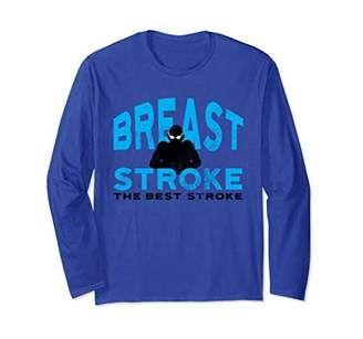 Breast Stroke The Best Long Sleeve T-Shirt by Awesome Swim