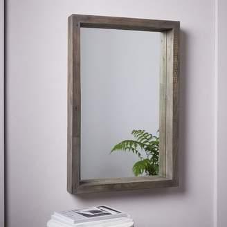 west elm Emmerson® Modern Reclaimed Wood Wall Mirror