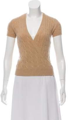 Denim & Supply Ralph Lauren Cashmere Short Sleeve Top