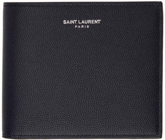 Saint Laurent Navy East West Wallet