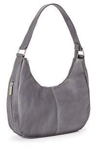 Le Donne Leather Single Handle Side Zip Hobo ()