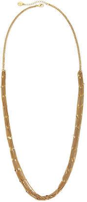 Liz Claiborne Gold-Tone Multi-Strand Long Necklace