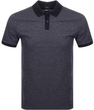 HUGO BOSS Parlay 25 Polo T Shirt Navy