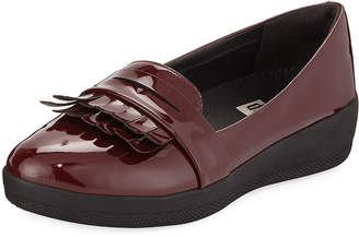 FitFlop Fringey Patent SNEAKERLOAFER Shoe