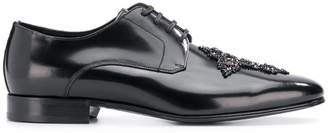 Dolce & Gabbana Cameron Swarovski cross derby shoes