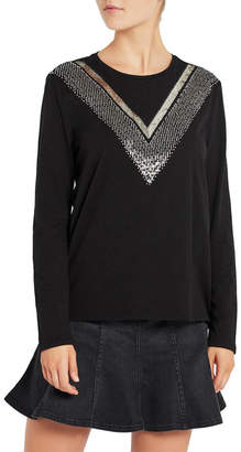 Sass & Bide Moon Indigo Long Sleeve Tee