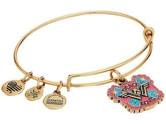Alex and Ani Wonder Woman, Peace Love Bangle Bracelet
