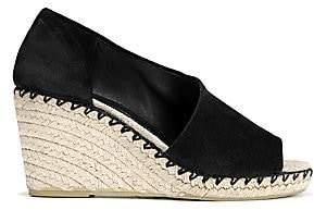 Vince Women's Sonora Peep-Toe Suede Espadrile Wedge Sandals
