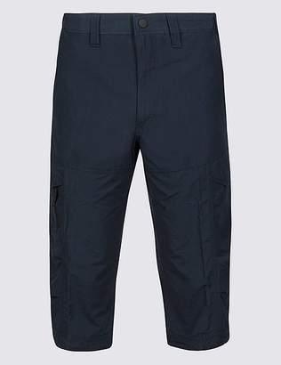 Marks and Spencer Cotton Rich 3/4 Leg Trekking Shorts