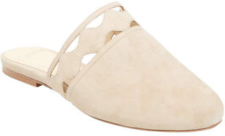 Alexandre Birman Scalloped Closed-Toe Flat