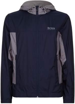 HUGO BOSS Logo Zip-Up Jacket