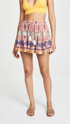 Rococo Sand Short Printed Skirt