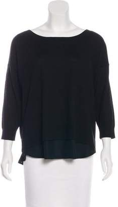 Club Monaco Long Sleeve Wool Top
