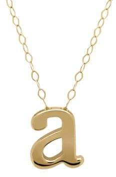 Lord & Taylor 14K Gold Pendant Necklace $450 thestylecure.com