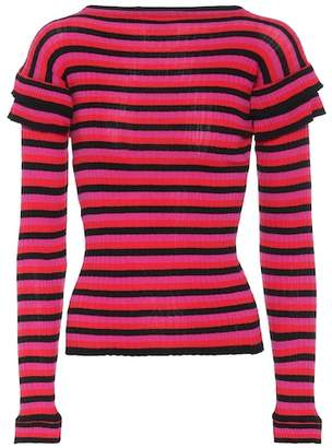Philosophy di Lorenzo Serafini Striped cotton top