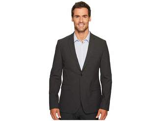 Calvin Klein Slim Fit Two-Button Notch Lapel End on End Bi-Stretch Infinite Style Jacket