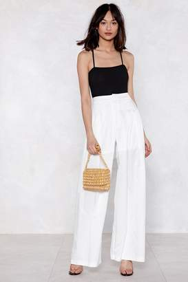 Nasty Gal Along For the Wide-Leg Pants