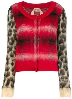 No.21 leopard cardigan