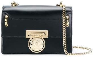 Balmain flap box shoulder bag