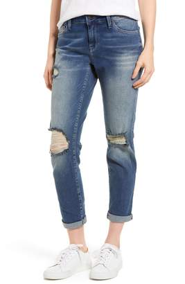 Mavi Jeans Ada Ripped Boyfriend Jeans