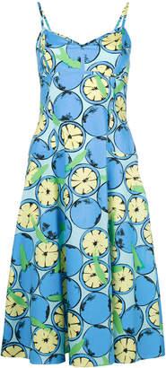 Moschino citrus print dress