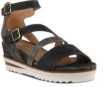 7195e855e068 at DSW · Spring Step L Artiste by Nolana Wedge Sandal - Women s