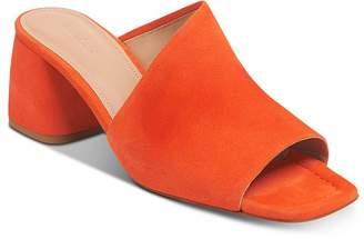 Whistles Women's Arcade Asymmetric Block Heel Mule Sandals