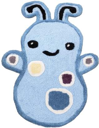 CoCalo Rug Peek A Boo Monsters, Blue/Brown/Green