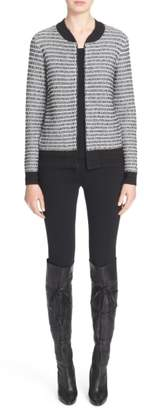St. John 'Alexa' Stretch Milano Knit Ankle Pants