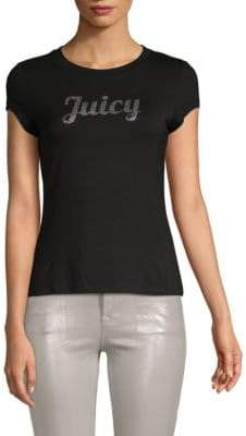 Juicy Couture Logo Roundneck Tee